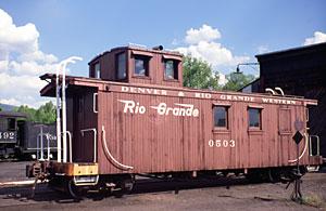 Denver & Rio Grande Western cabooses